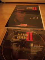 #P38 PANZER GENERAL II GAME DVD AND BOOK in Fort Hood, Texas